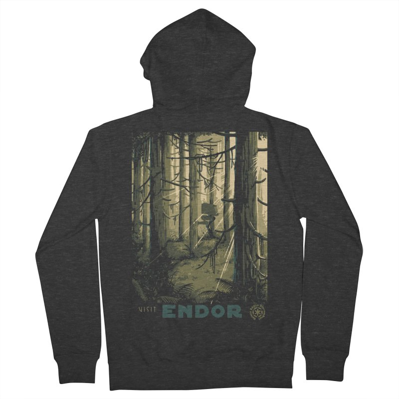 Visit Endor Men's French Terry Zip-Up Hoody by mathiole