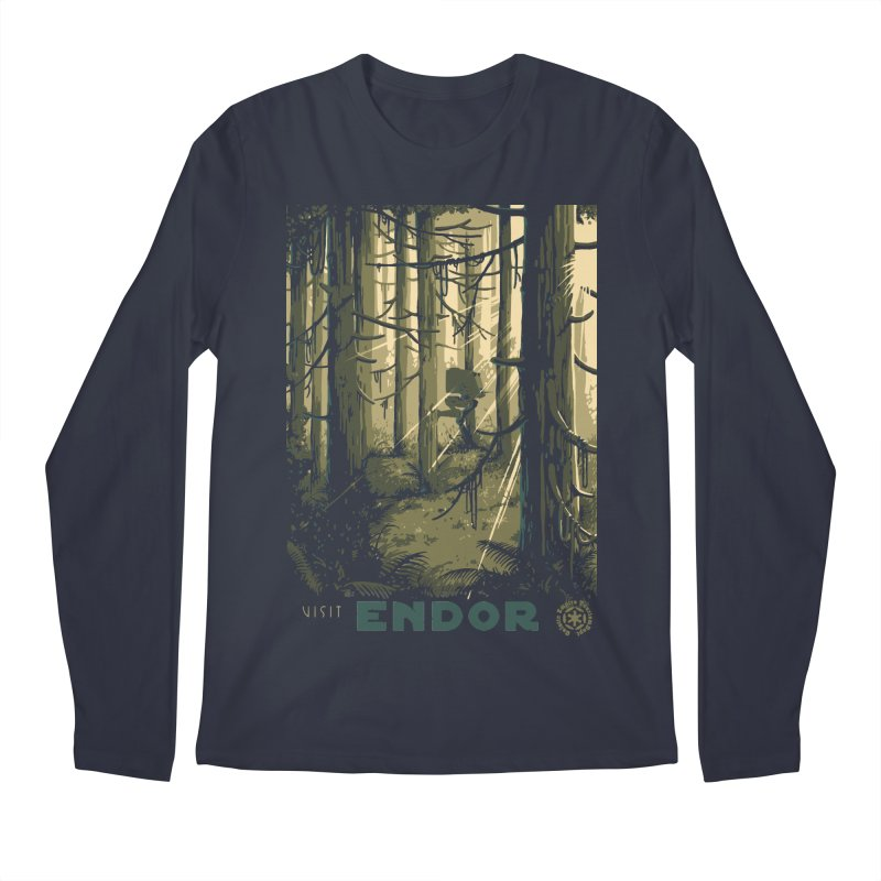 Visit Endor Men's Regular Longsleeve T-Shirt by mathiole