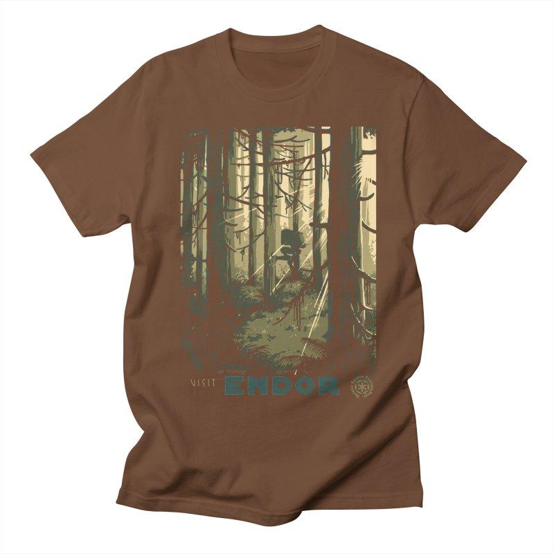 Visit Endor Women's Regular Unisex T-Shirt by mathiole