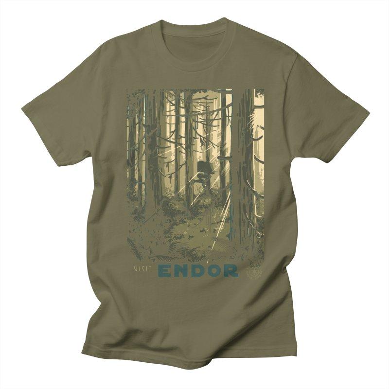 Visit Endor Women's Unisex T-Shirt by mathiole