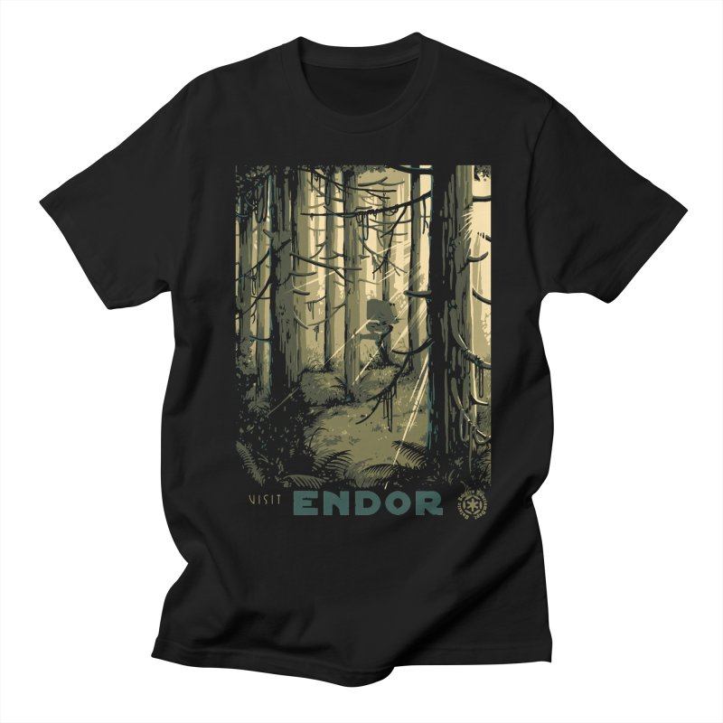 Visit Endor Men's Regular T-Shirt by mathiole