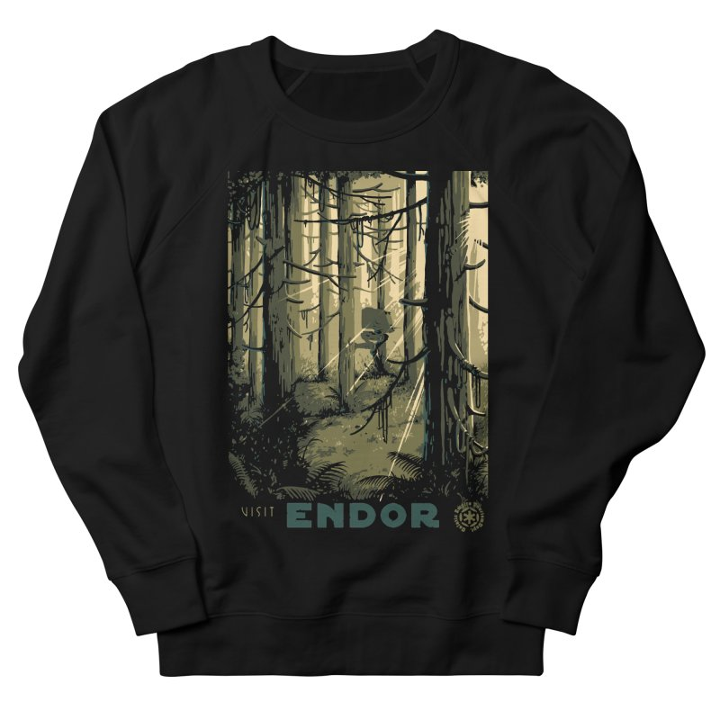 Visit Endor Women's French Terry Sweatshirt by mathiole