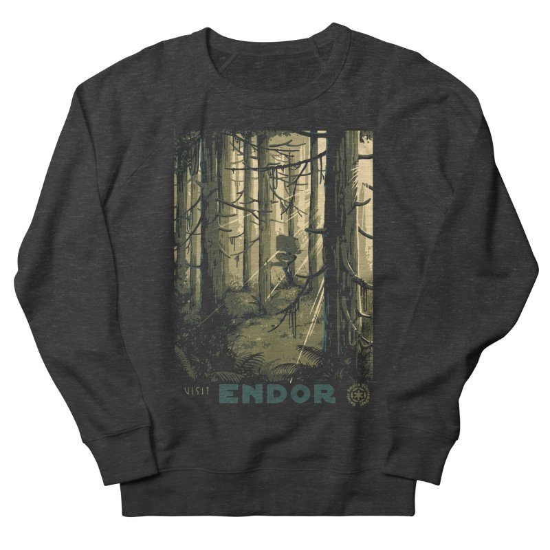 Visit Endor Men's Sweatshirt by mathiole