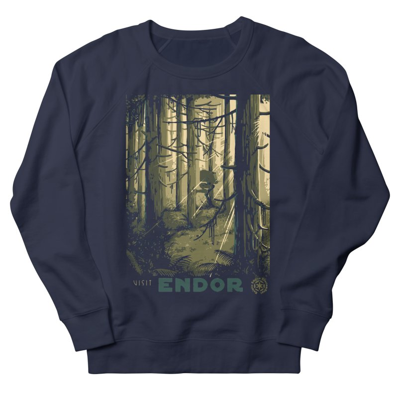 Visit Endor Men's French Terry Sweatshirt by mathiole