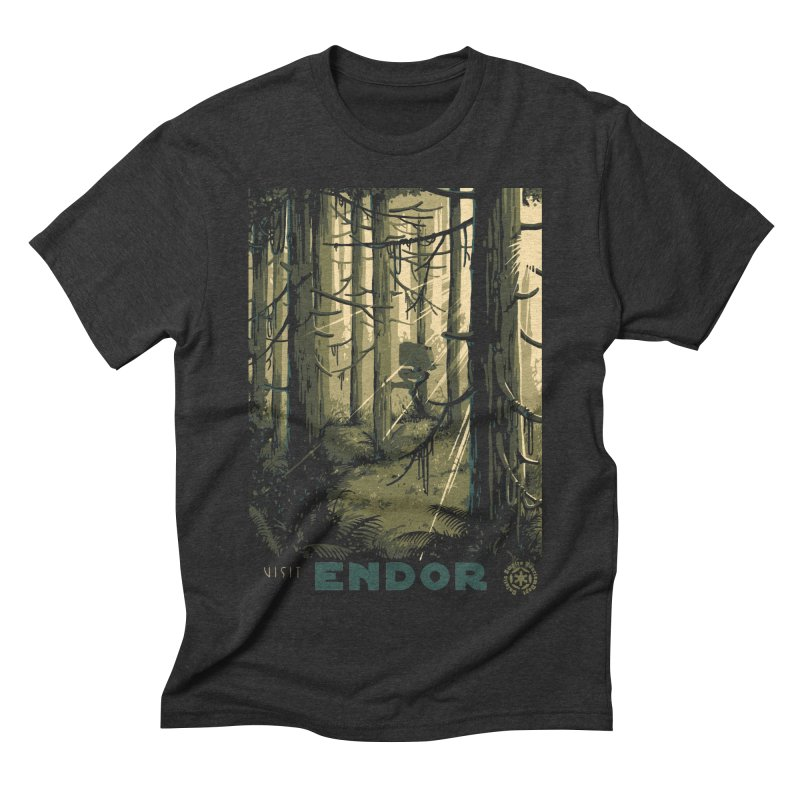 Visit Endor Men's Triblend T-Shirt by mathiole