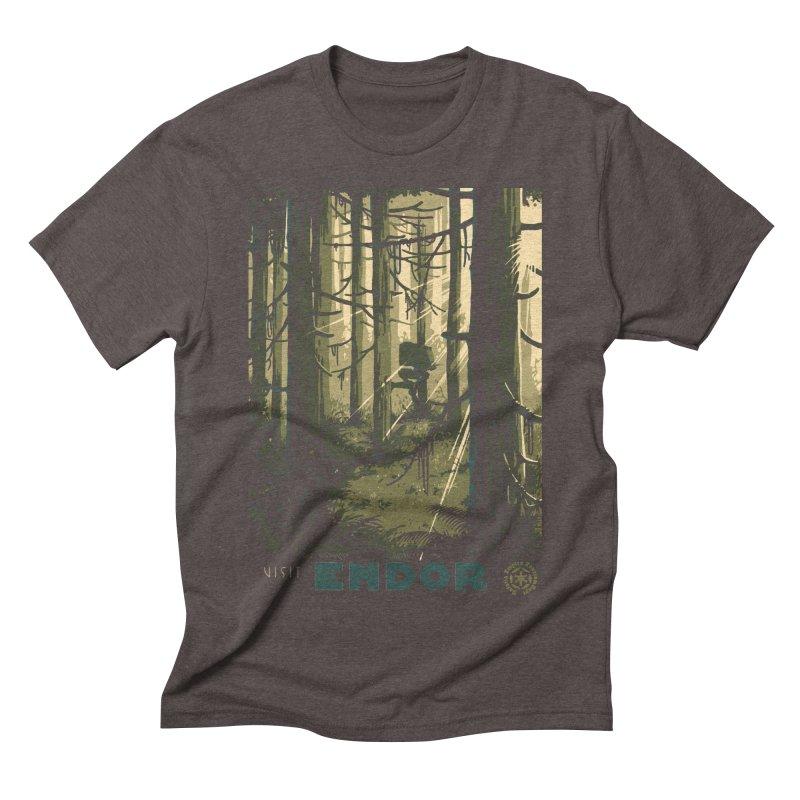 Visit Endor Men's Triblend T-Shirt by mathiole