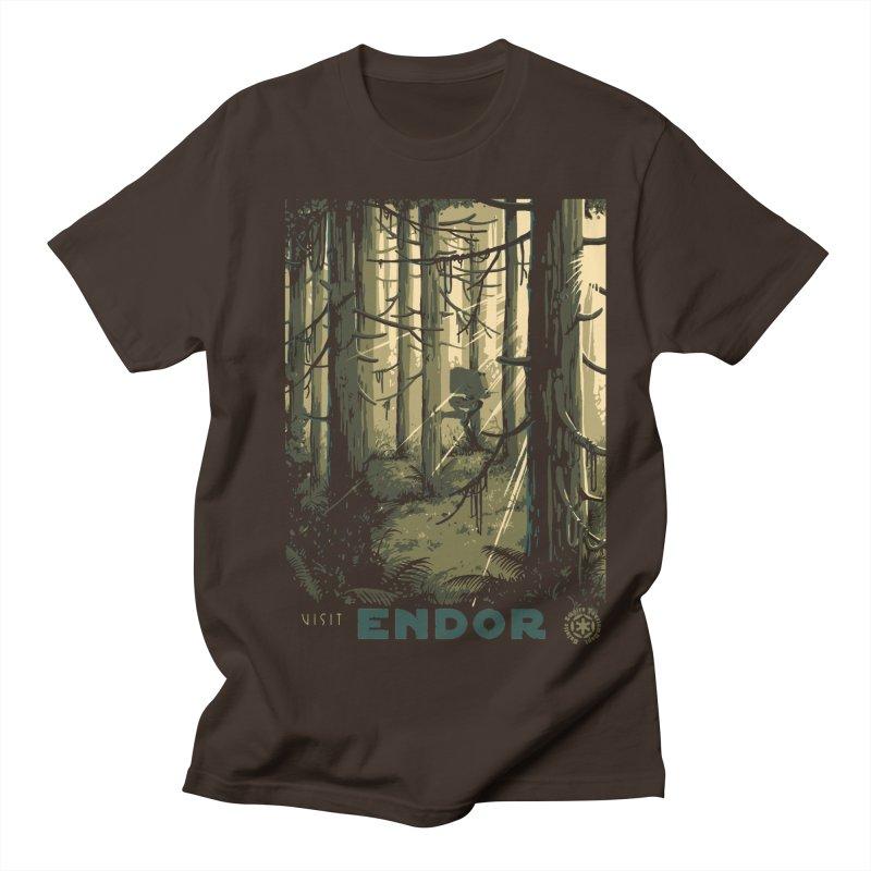 Visit Endor Men's T-Shirt by mathiole