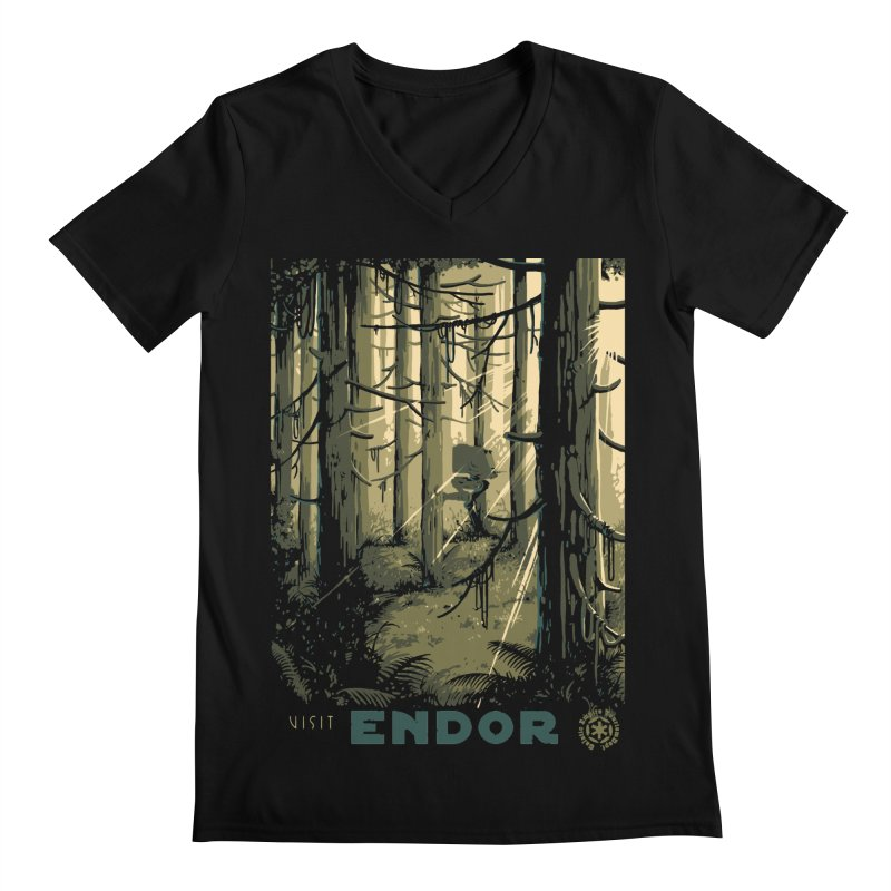 Visit Endor Men's V-Neck by mathiole