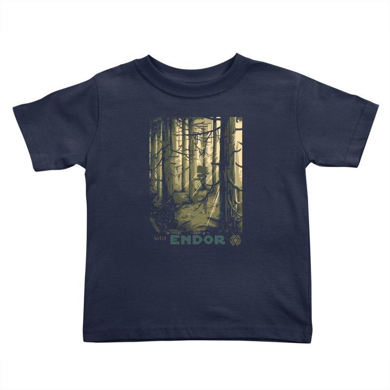 Visit Endor Kids Toddler T-Shirt by mathiole
