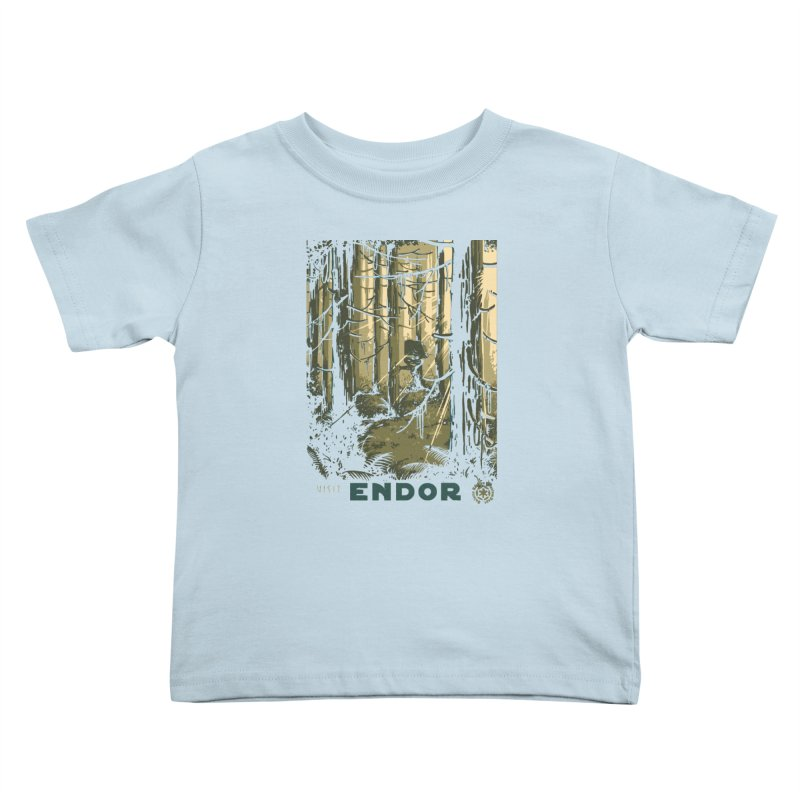 Visit Endor Kids Toddler T-Shirt by mathiole