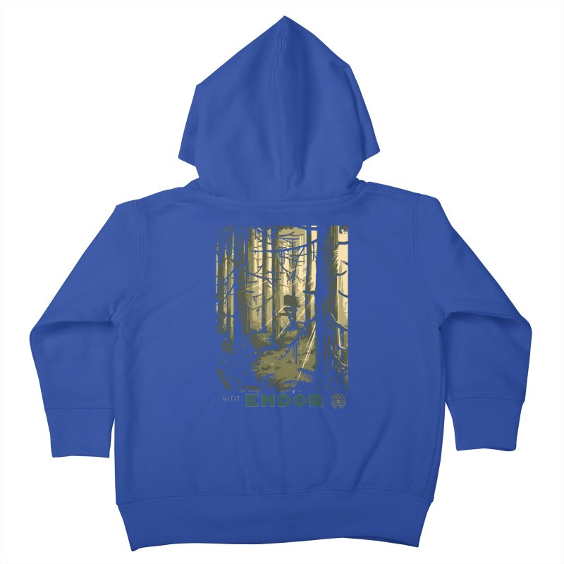Visit Endor Kids Toddler Zip-Up Hoody by mathiole