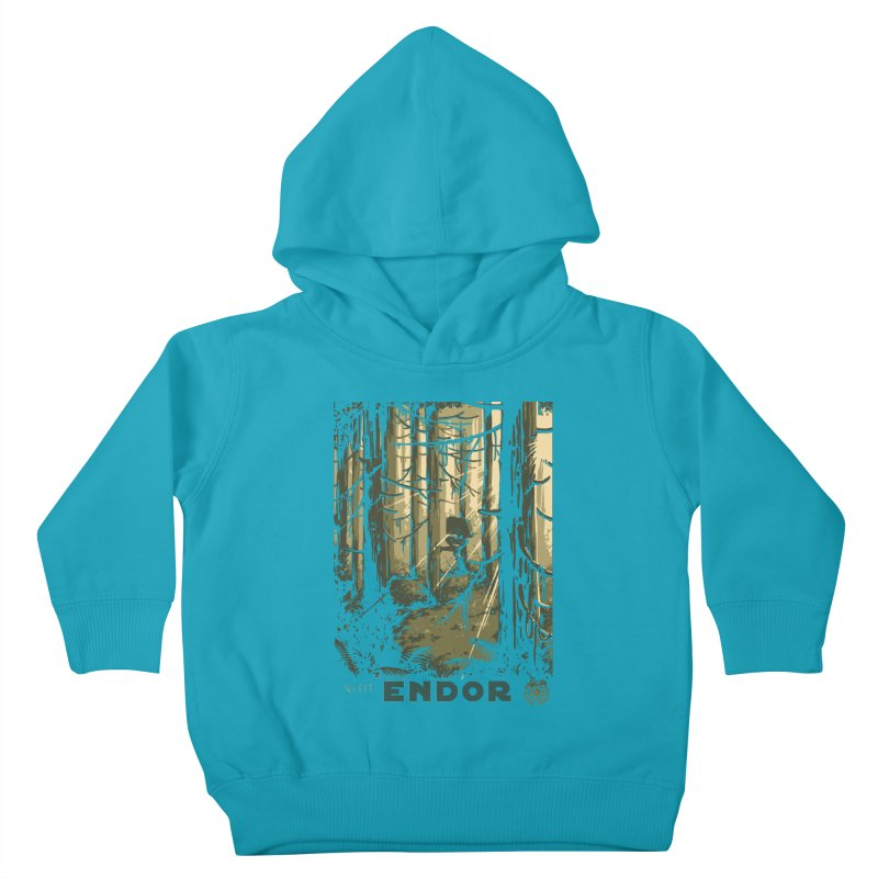 Visit Endor Kids Toddler Pullover Hoody by mathiole