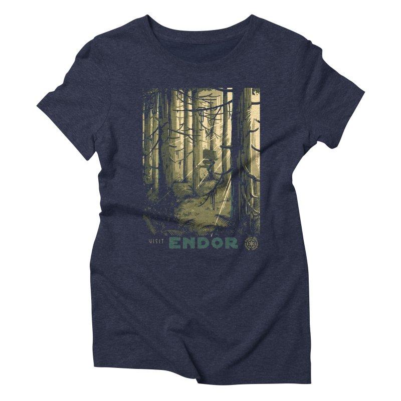 Visit Endor Women's Triblend T-Shirt by mathiole