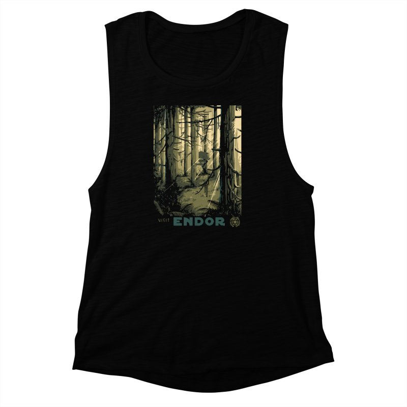 Visit Endor Women's Muscle Tank by mathiole