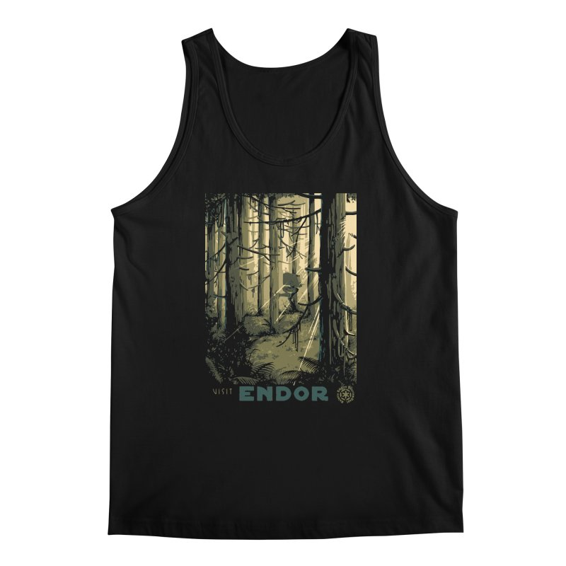 Visit Endor Men's Regular Tank by mathiole