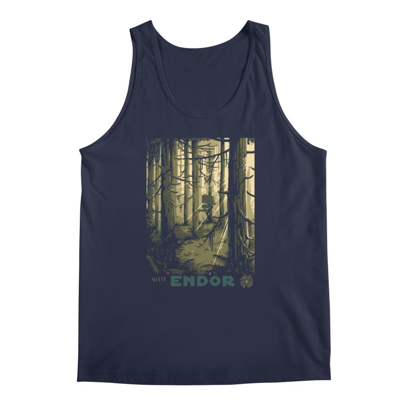Visit Endor Men's Tank by mathiole