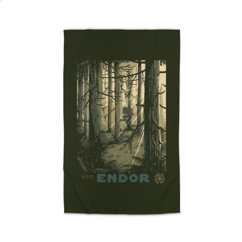 Visit Endor Home Rug by mathiole