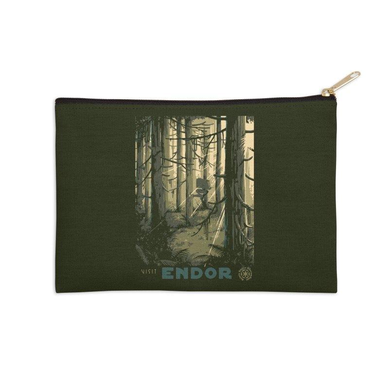 Visit Endor Accessories Zip Pouch by mathiole