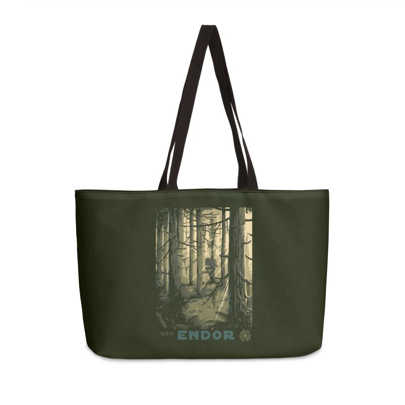 Visit Endor Accessories Weekender Bag Bag by mathiole