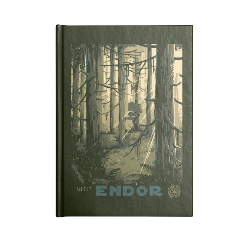 Visit Endor Accessories Lined Journal Notebook by mathiole