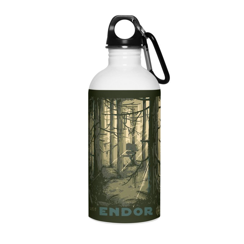 Visit Endor Accessories Water Bottle by mathiole
