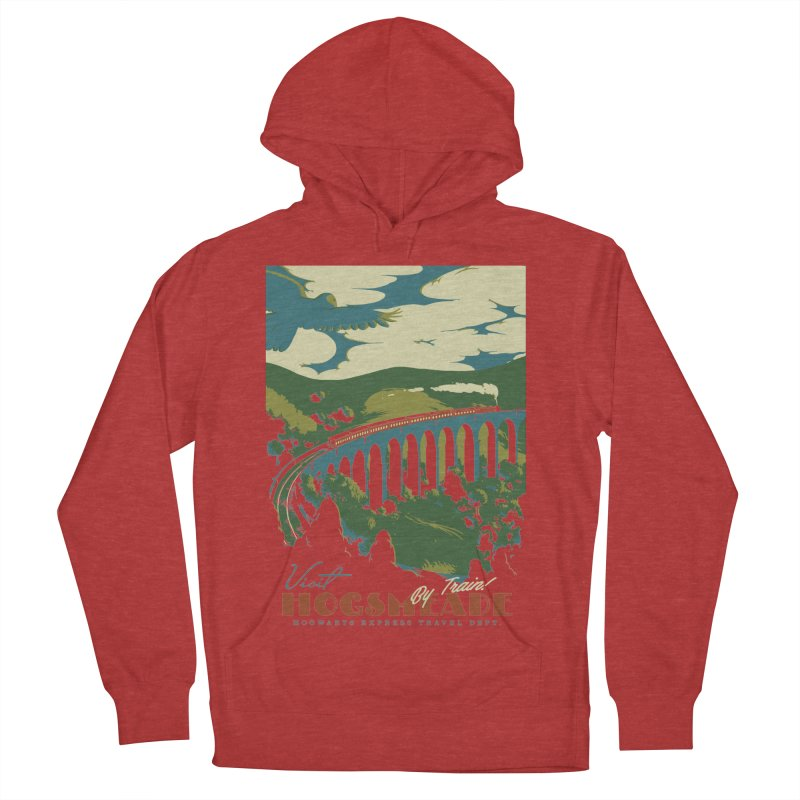 Visit Hogsmeade Women's French Terry Pullover Hoody by mathiole