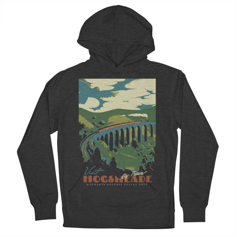 Visit Hogsmeade Men's French Terry Pullover Hoody by mathiole
