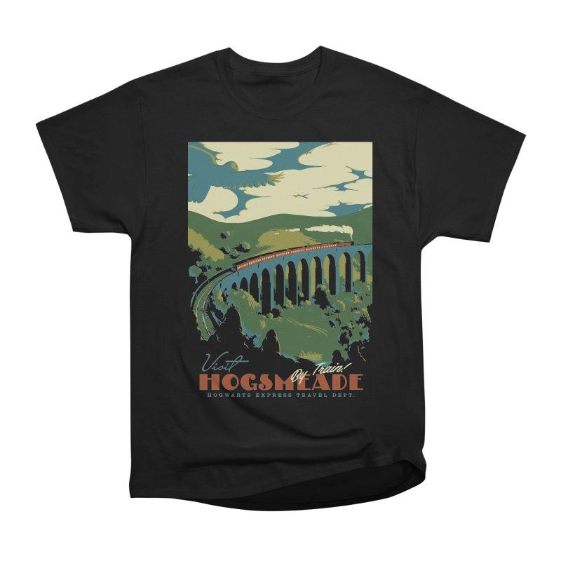 Visit Hogsmeade Men's Heavyweight T-Shirt by mathiole