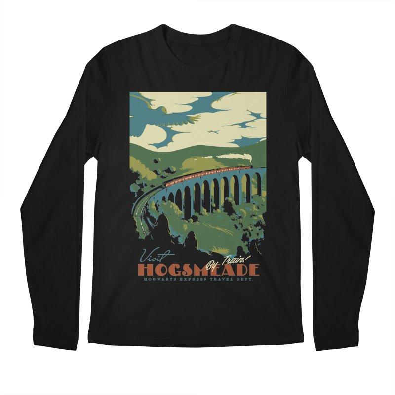 Visit Hogsmeade Men's Regular Longsleeve T-Shirt by mathiole