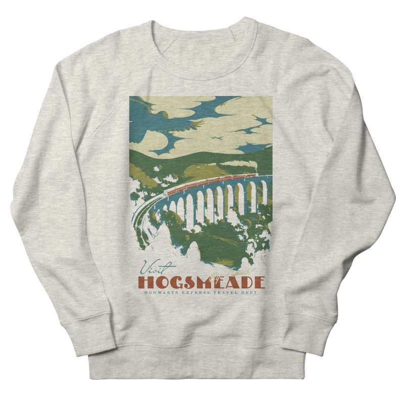 Visit Hogsmeade Women's French Terry Sweatshirt by mathiole