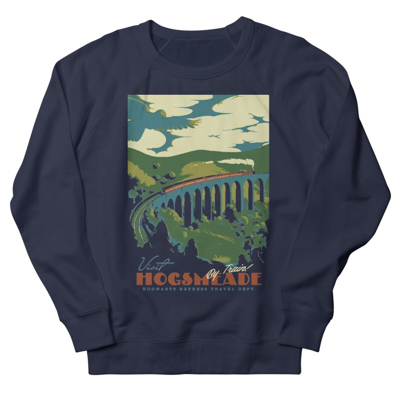Visit Hogsmeade Men's French Terry Sweatshirt by mathiole