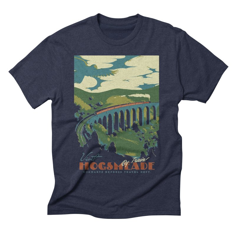 Visit Hogsmeade Men's Triblend T-Shirt by mathiole