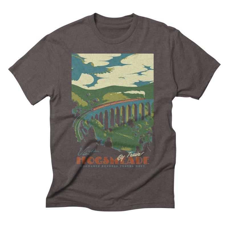 Visit Hogsmeade Men's Triblend T-Shirt by mathiole