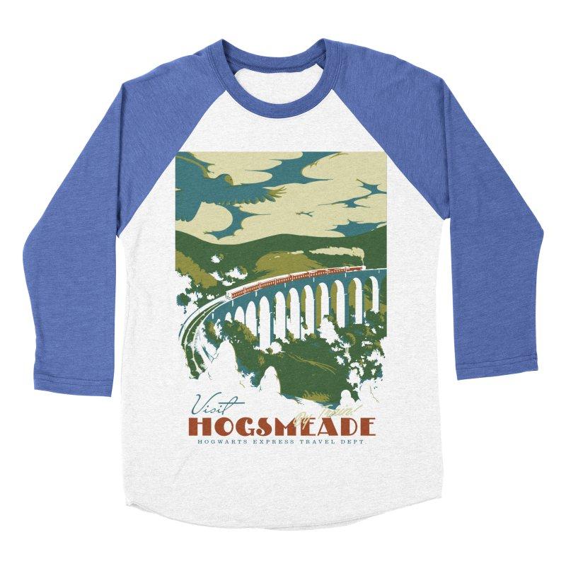 Visit Hogsmeade Women's Baseball Triblend Longsleeve T-Shirt by mathiole