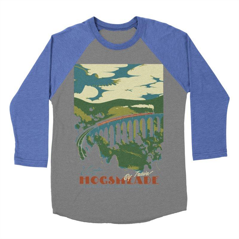 Visit Hogsmeade Women's Baseball Triblend T-Shirt by mathiole