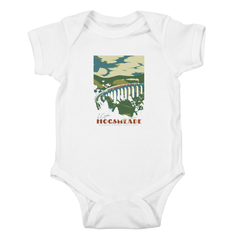 Visit Hogsmeade Kids Baby Bodysuit by mathiole