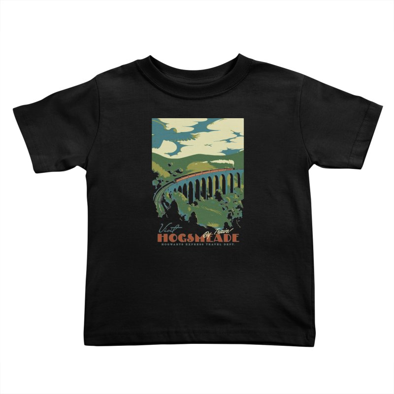 Visit Hogsmeade Kids Toddler T-Shirt by mathiole