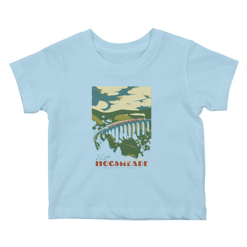 Visit Hogsmeade Kids Baby T-Shirt by mathiole