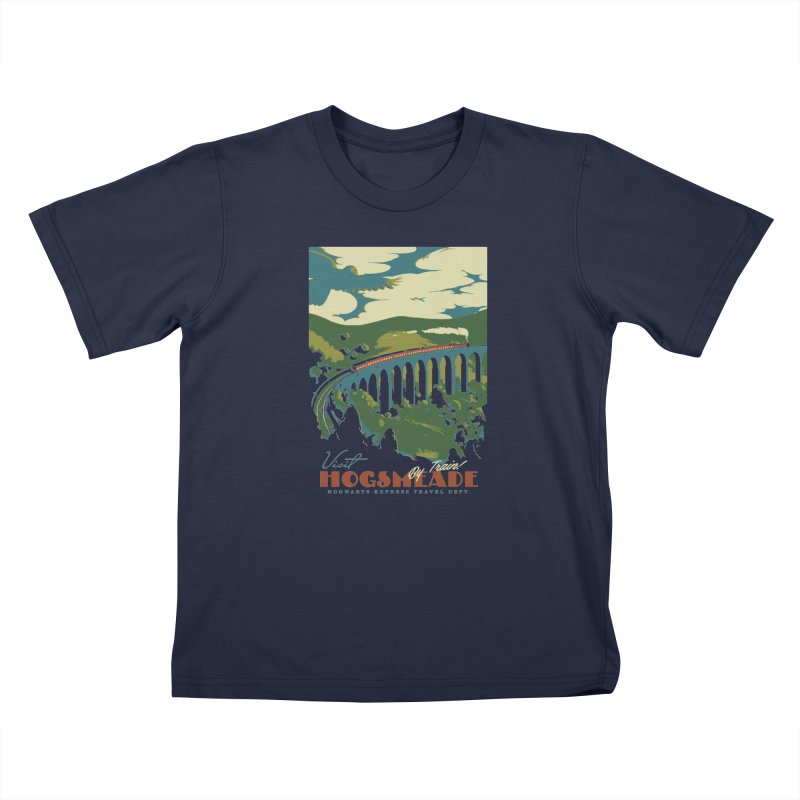 Visit Hogsmeade Kids T-Shirt by mathiole