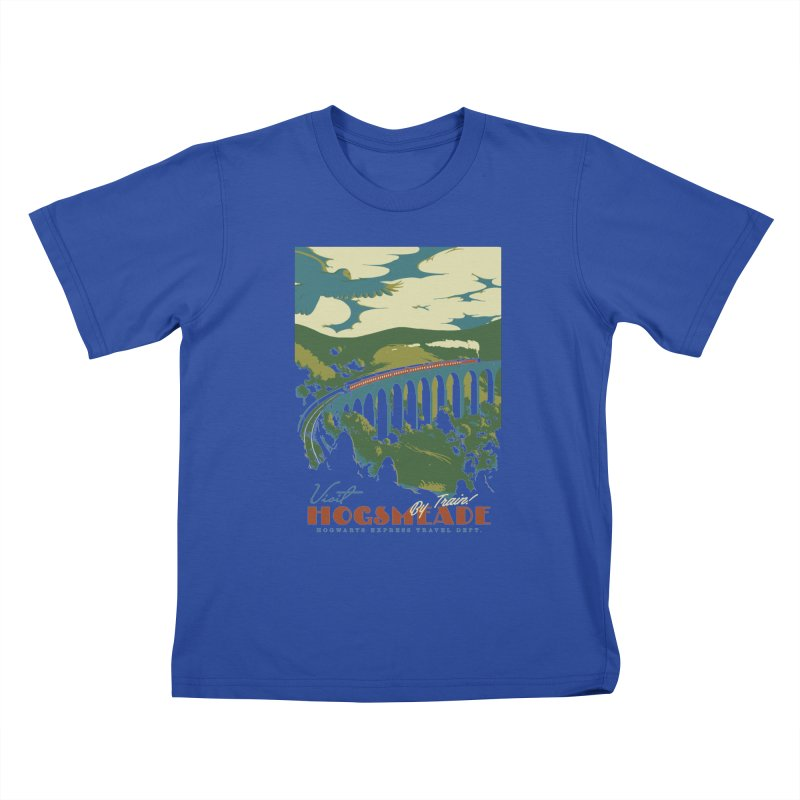Visit Hogsmeade Kids T-Shirt by mathiole