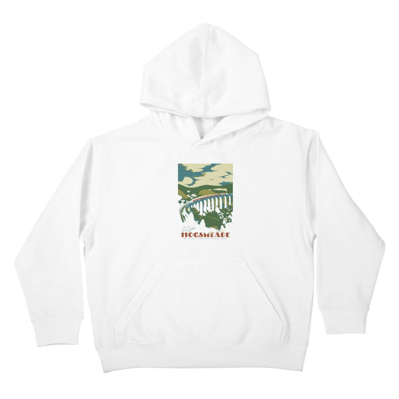 Visit Hogsmeade Kids Pullover Hoody by mathiole