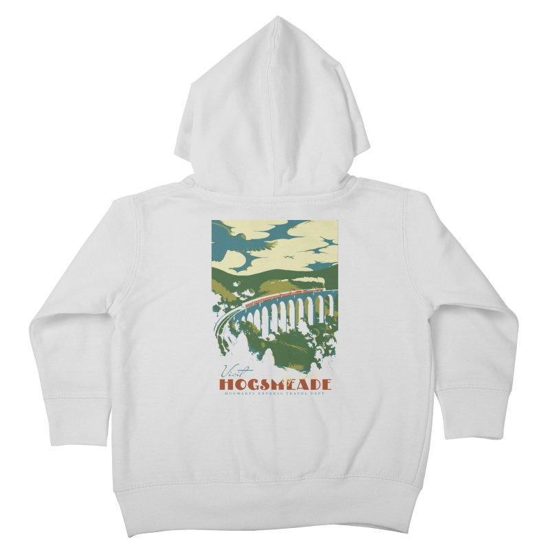 Visit Hogsmeade Kids Toddler Zip-Up Hoody by mathiole