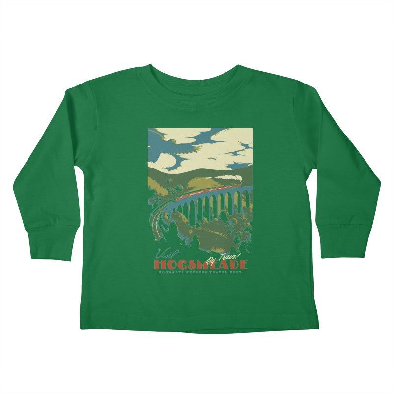 Visit Hogsmeade Kids Toddler Longsleeve T-Shirt by mathiole
