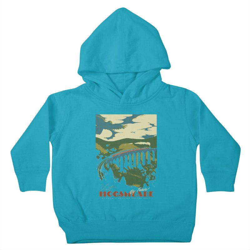 Visit Hogsmeade Kids Toddler Pullover Hoody by mathiole
