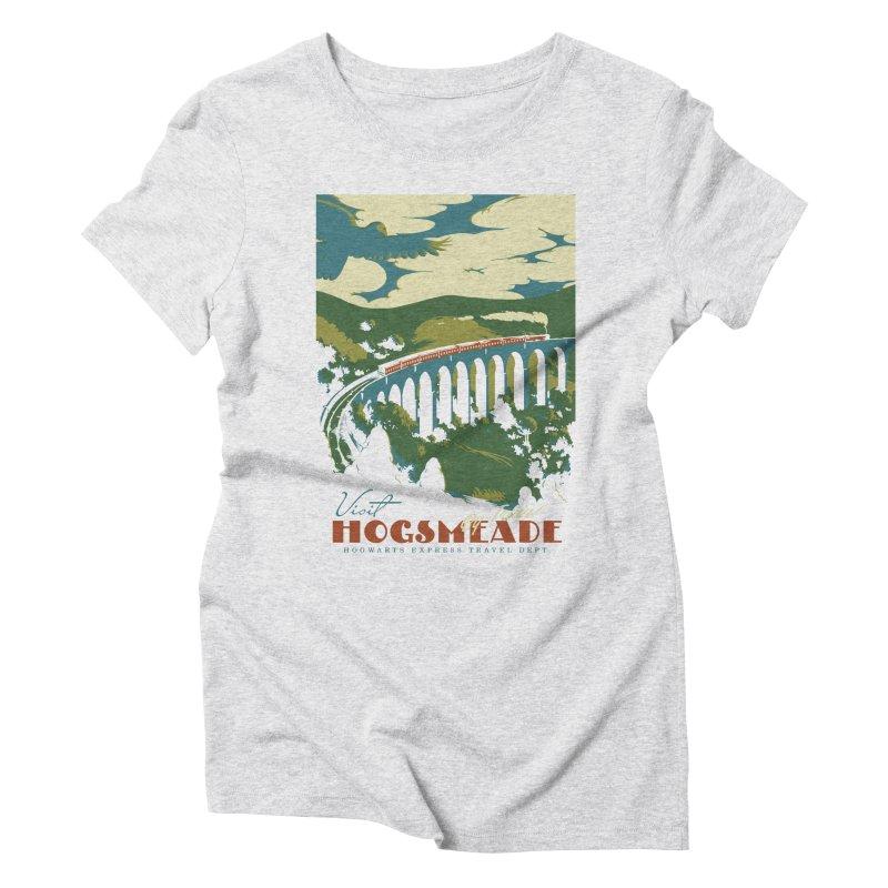 Visit Hogsmeade Women's Triblend T-Shirt by mathiole