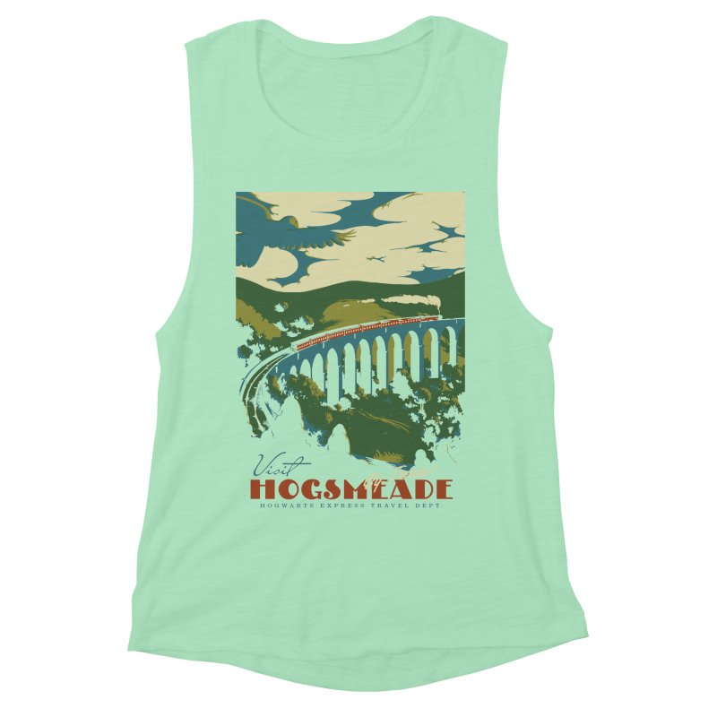Visit Hogsmeade Women's Muscle Tank by mathiole