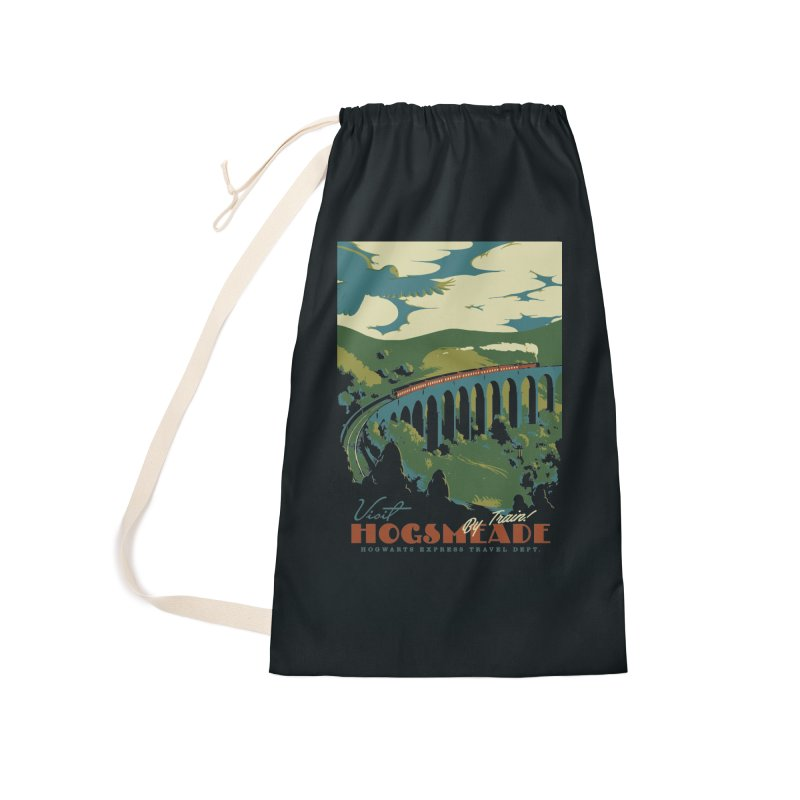 Visit Hogsmeade Accessories Laundry Bag Bag by mathiole