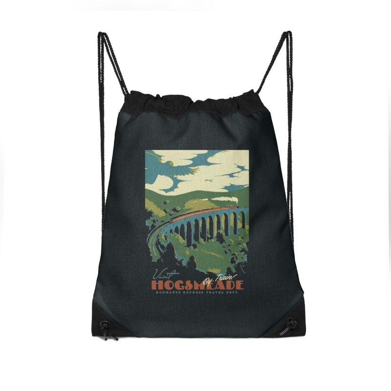 Visit Hogsmeade Accessories Drawstring Bag Bag by mathiole