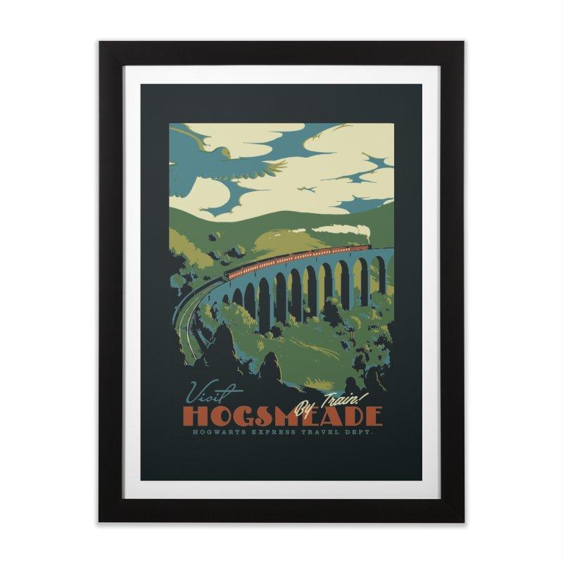 Visit Hogsmeade Home Framed Fine Art Print by mathiole