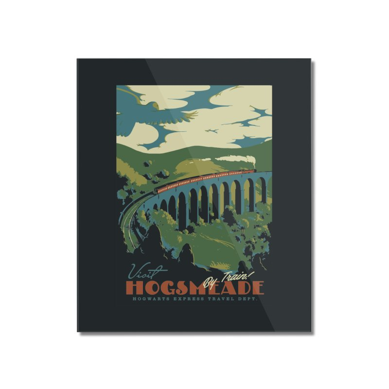 Visit Hogsmeade Home Mounted Acrylic Print by mathiole